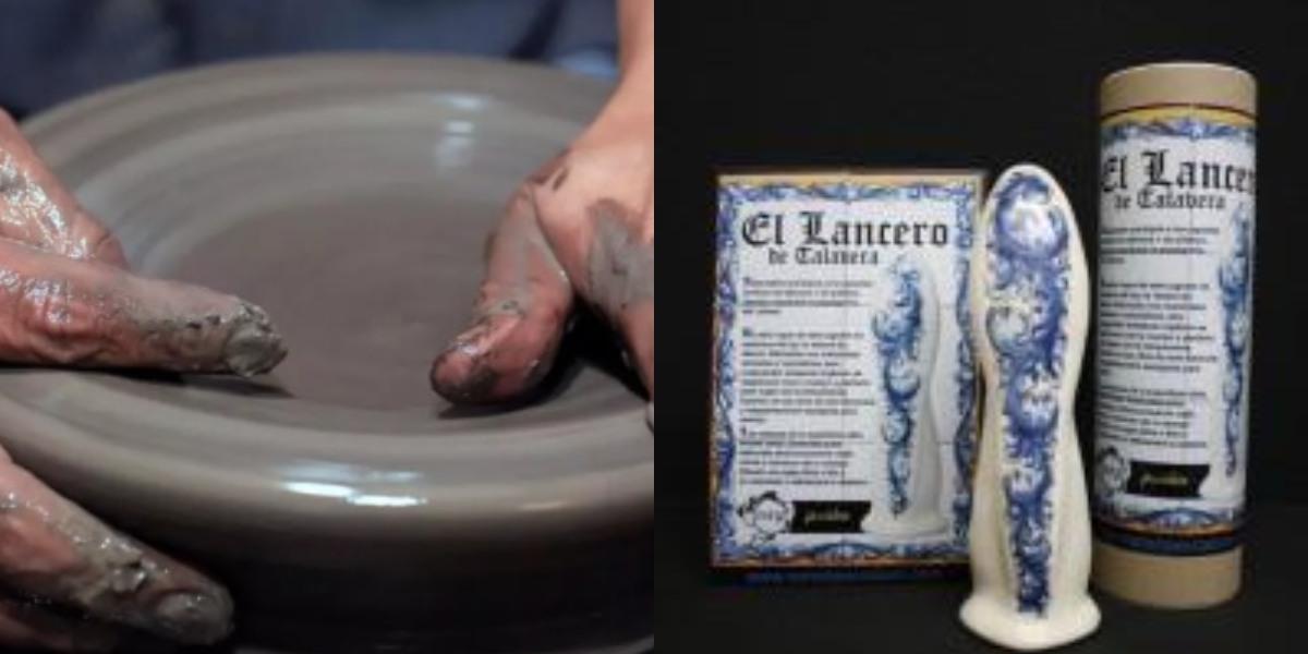 consoladores cerámica
