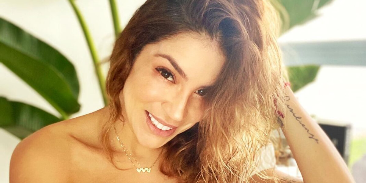 """Valentina Lizcano está embarazada y mostró su tierna """"pancita"""""""