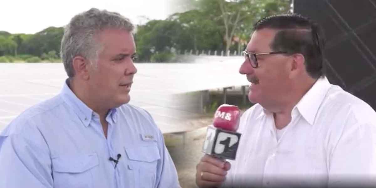 Entrevistas Canal 1: el presidente Duque habla sobre reajuste del salario mínimo y anuncia embajador en España
