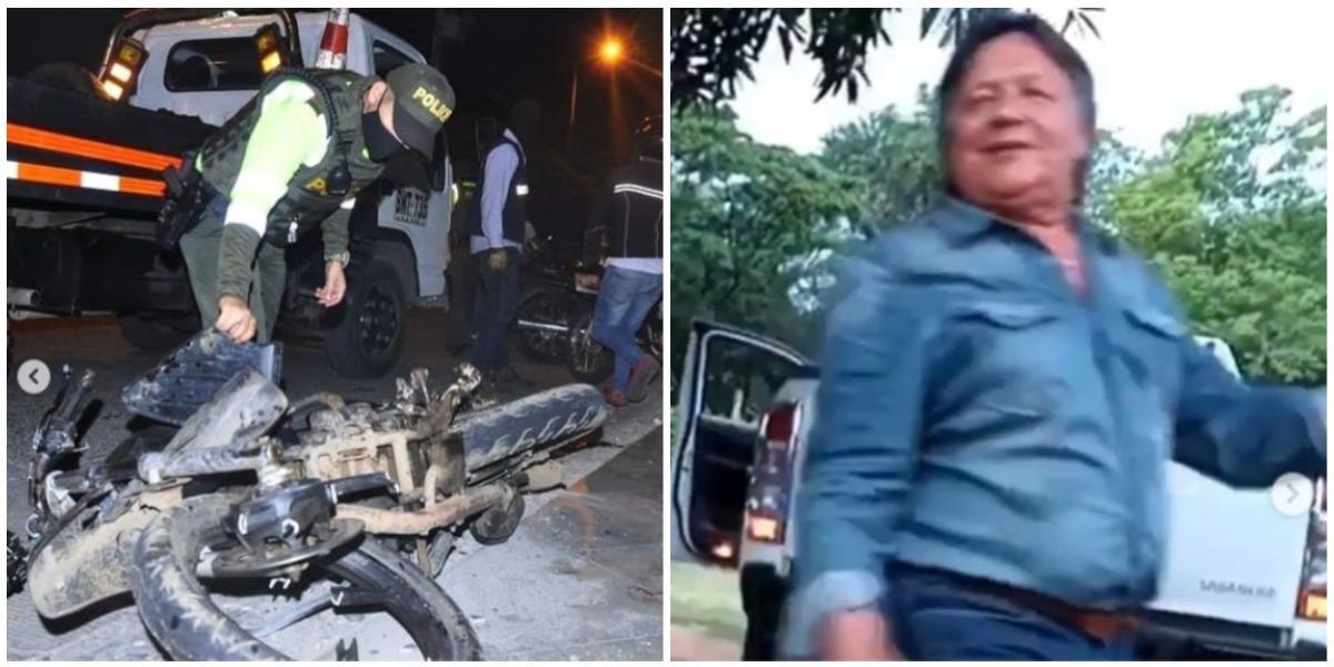 Padre de Silvestre Dangond es acusado de accidente en Valledupar