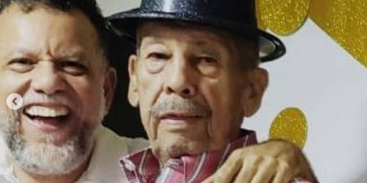 Alberto Linero recordó a su padre con un sentido mensaje