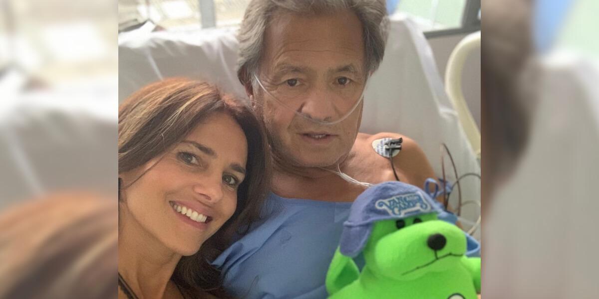 «Quisiera estar con él, pero es imposible»,Paola Turbay pide una oración por la salud de su padre