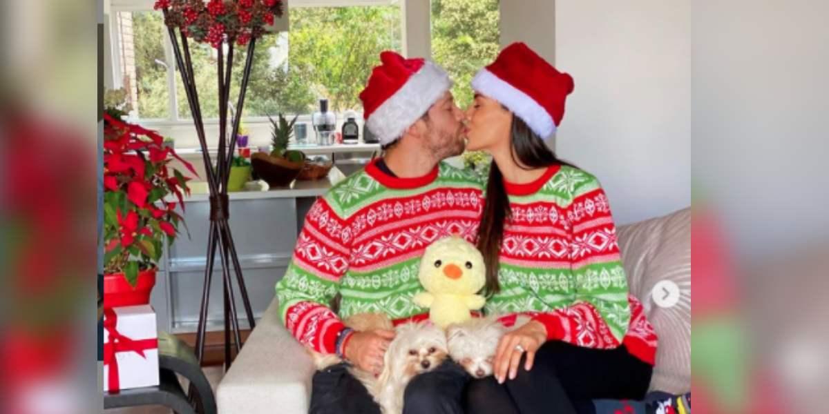 Valerie Domínguez y el 'Pollo' Echeverry confirman que serán padres