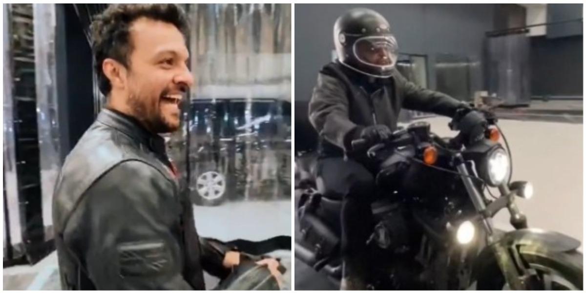 Críticas a Julián Román por comprarse una Harley Davidson