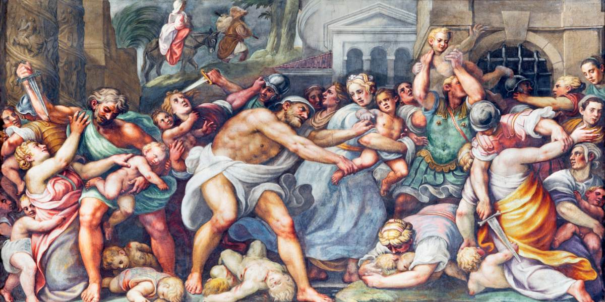 masacre dia de los inocentes 28 de diciembre biblia religion evangelio de lucas