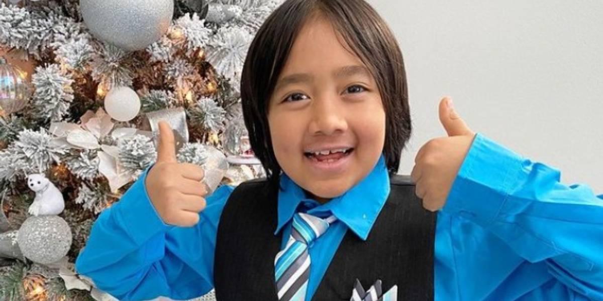 Ryan Kaji, el niño de 9 años que más dinero gana como youtuber