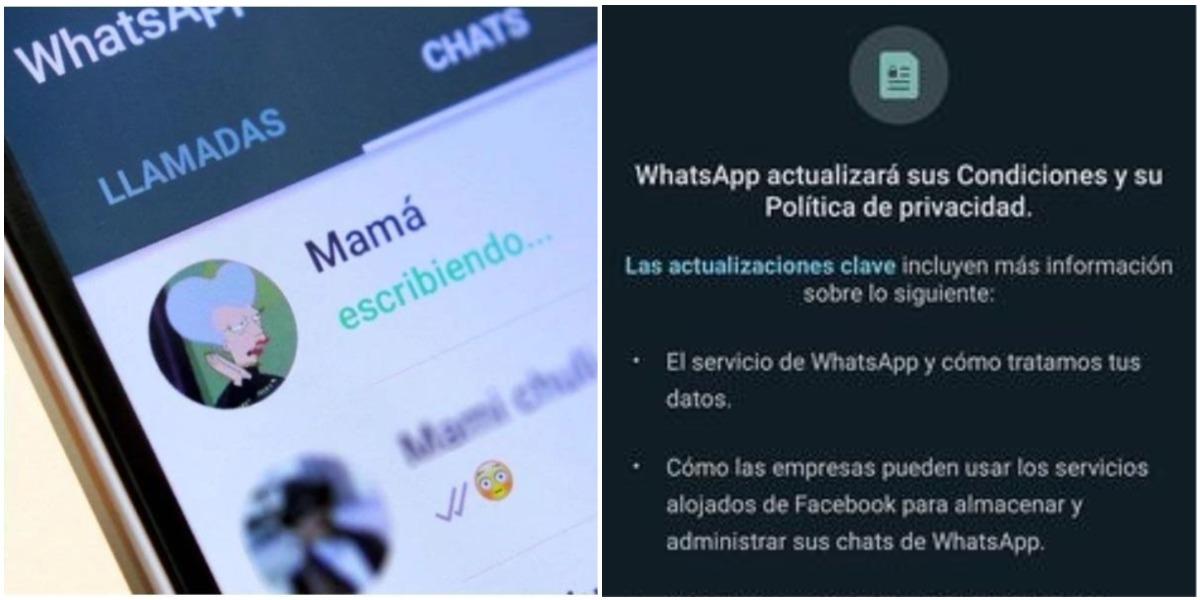 Políticas de privacidad de WhatsApp 2021