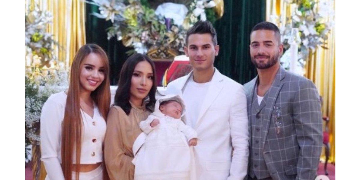 Luisa Fernanda W cuenta por qué Maluma es el padrino de Máximo