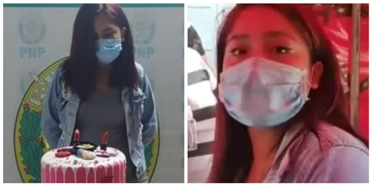 Detienen a joven por hacer fiesta de cumpleaños en plena pandemia y la hacen posar con el ponqué