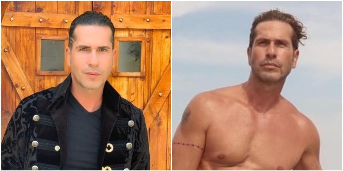 Gregorio Pernía, actor, subió foto desnudo