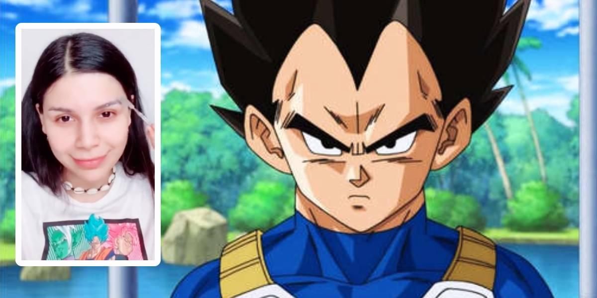 La increíble transformación de fanática de Dragon Ball Super en Vegeta
