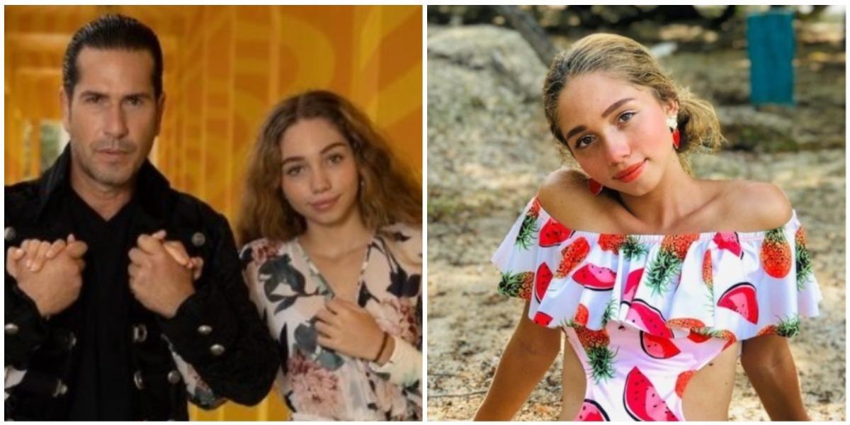 Luna Pernía, hija de Gregorio Pernía, publicó foto de sus axilas sin depilar