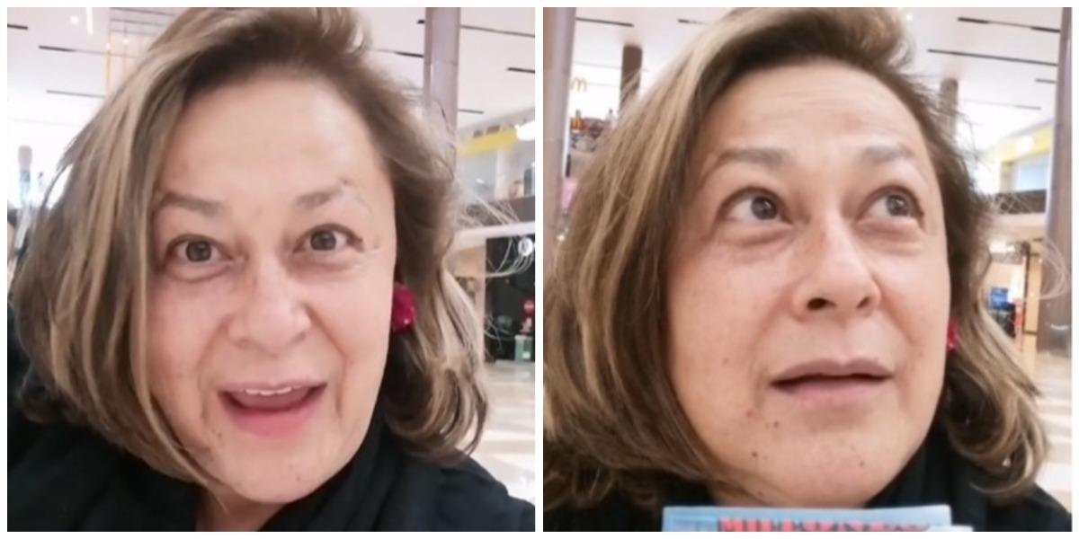 Actriz Alina Lozano herpes