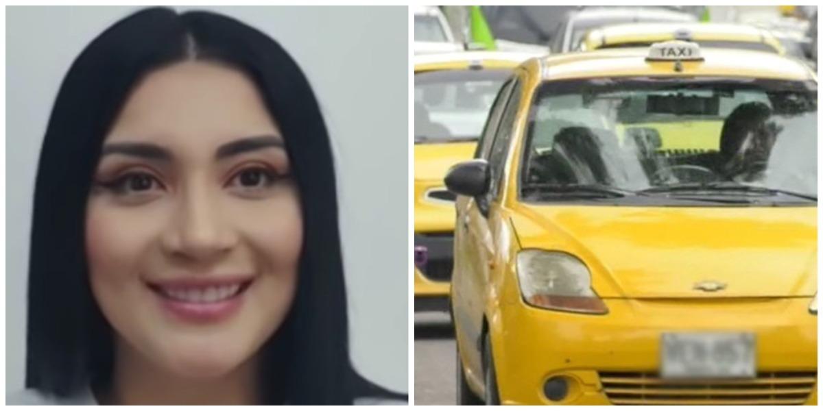 Martina Smith habla video sexual taxi Bucaramanga