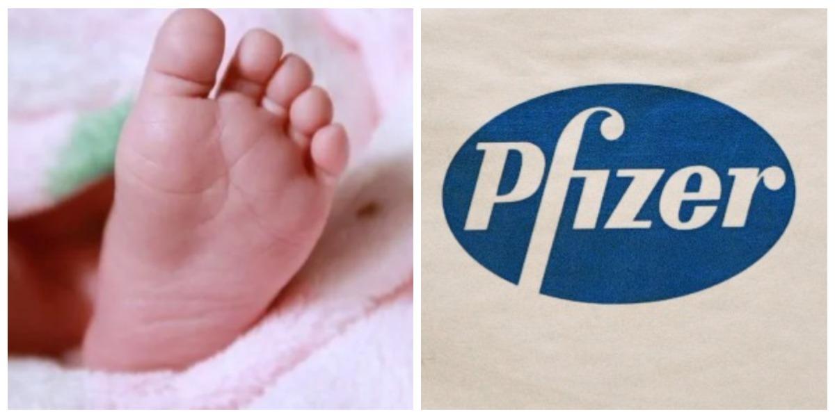 Bautizan a bebé con el nombre de Pfizer