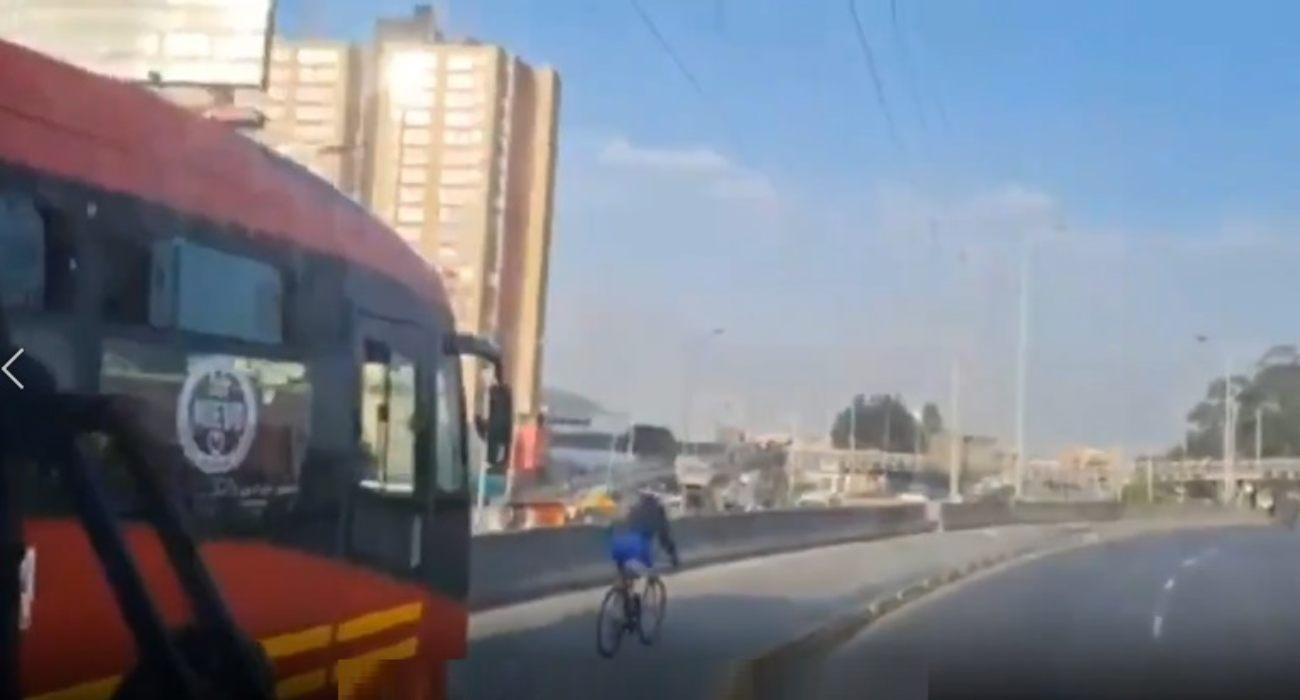 ciclista bogotá