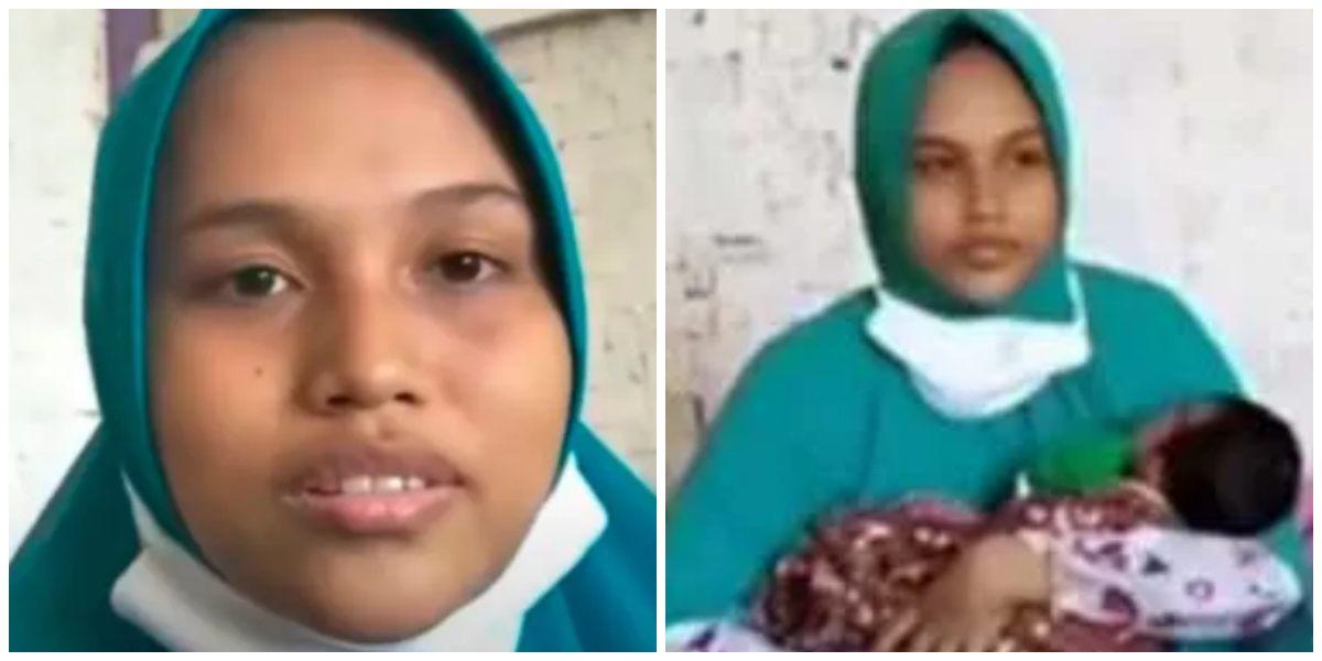 Mujer en Indonesia quedó embarazada con ráfaga de viento