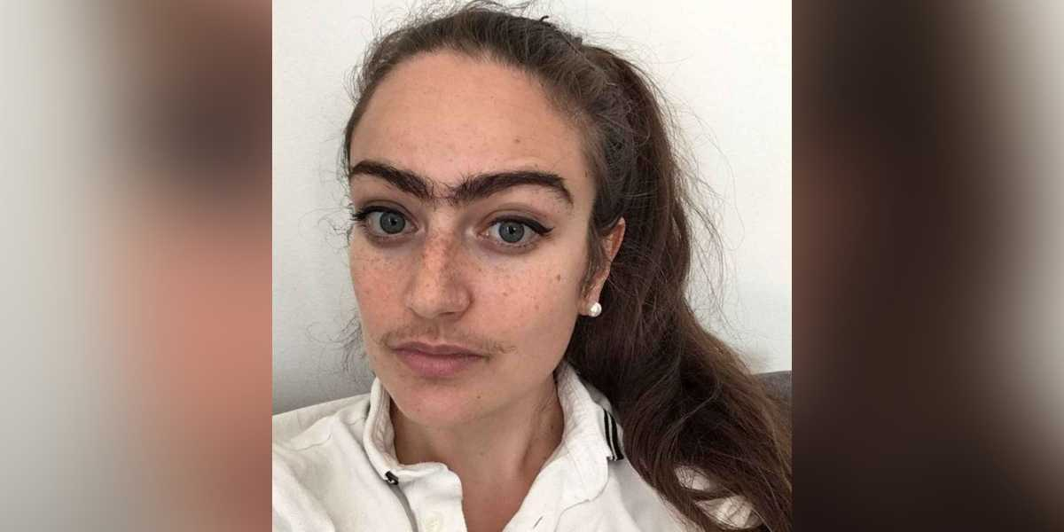Eldina Jaganjac mujer no se depila bigote cejas dinamarca