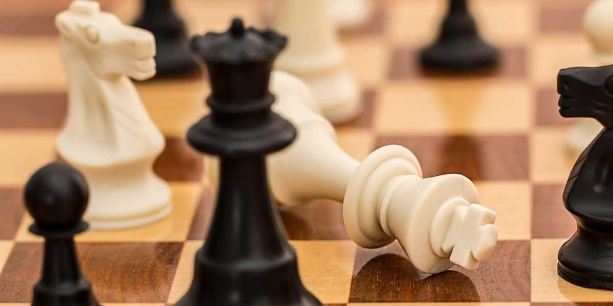 ajedrez juego fichas