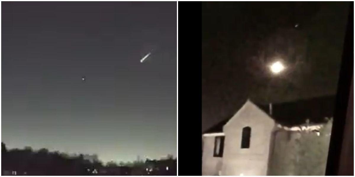 Cayó meteorito en Inglaterra