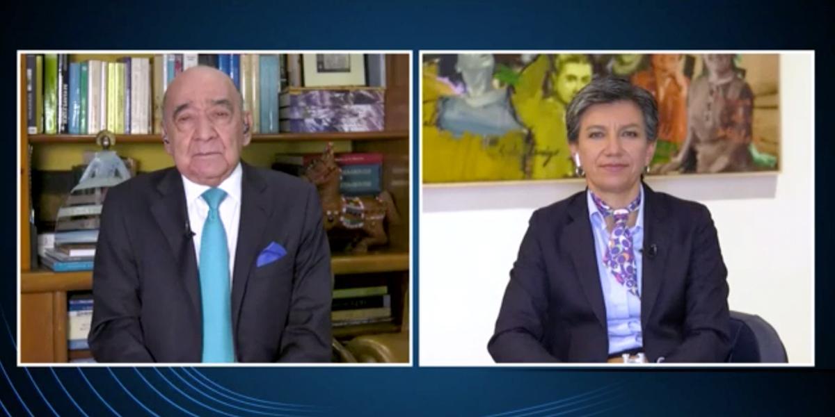 Alcaldesa Claudia López habla sobre las medidas para Semana Santa
