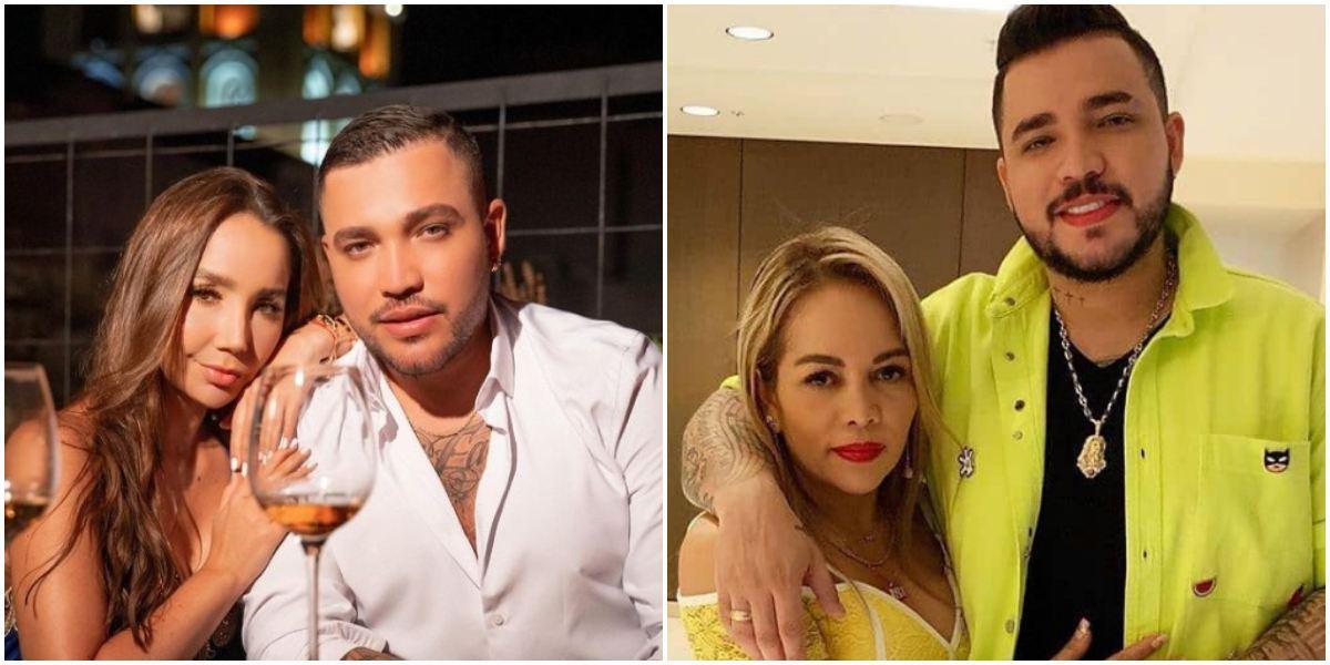 Jessi Uribe beso Paola Jara posible infidelidad Sandra Barrios