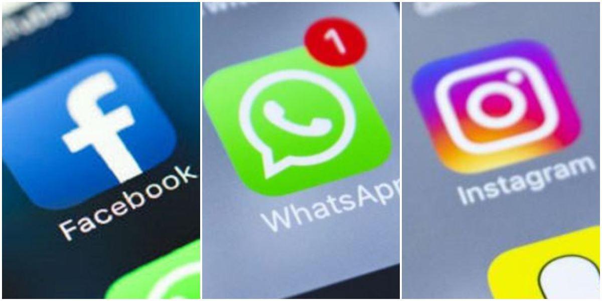 Facebook, WhatsApp e Instagram caída