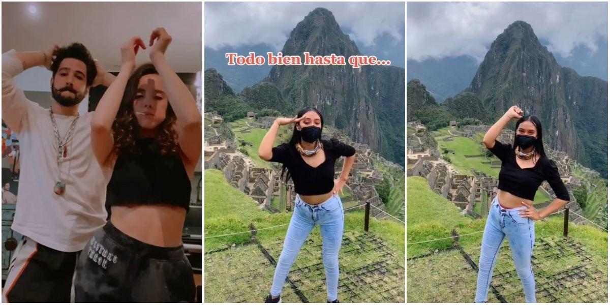 Joven baile Machu Picchu de Camilo