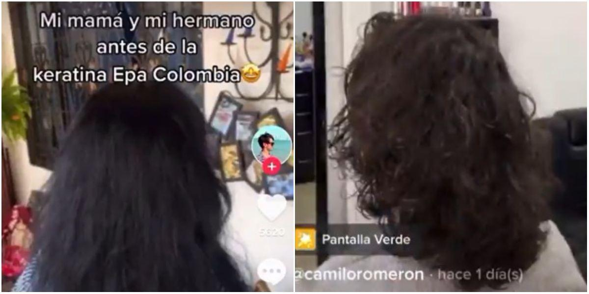 Familia probó keratinas de Epa Colombia