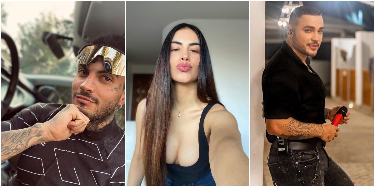 Mateo Carvajal, Jessica Cediel y Jessi Uribe
