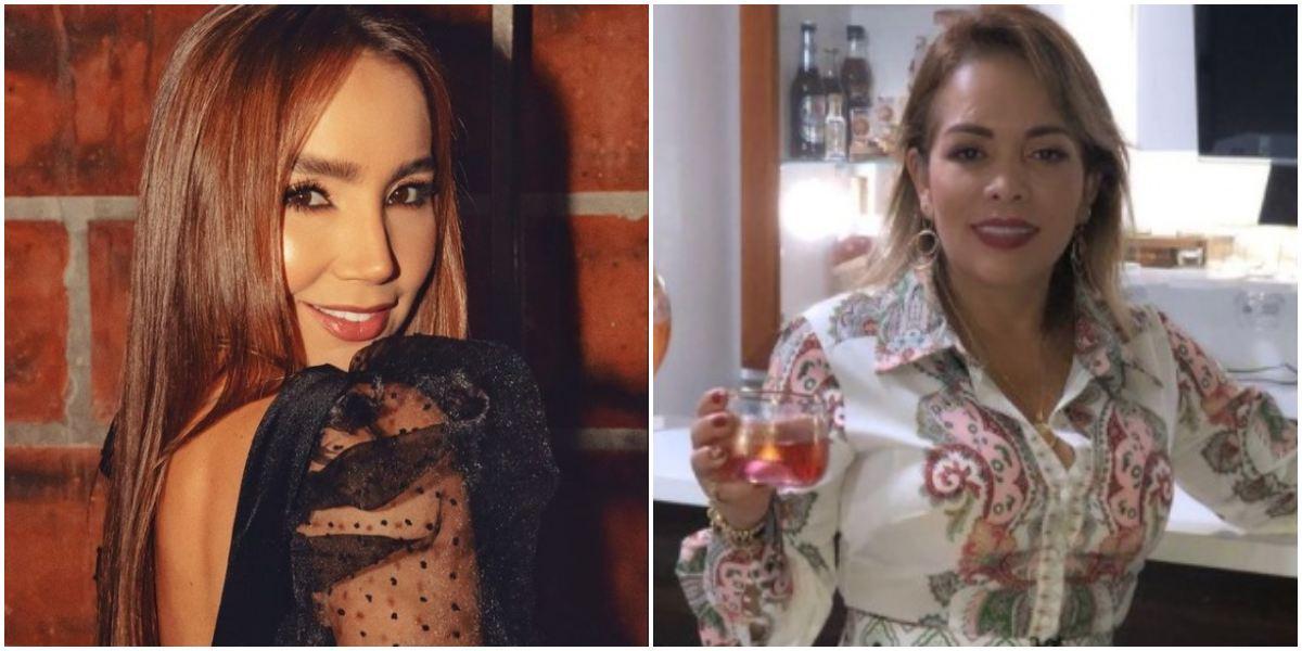 Paola Jara en Semana Santa perdón Sandra Barrios