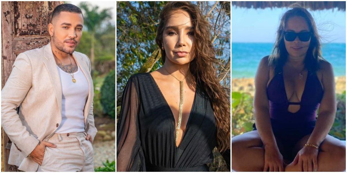 Jessi Uribe Paola Jara Sandra Barrios indirecta Lady Yuliana