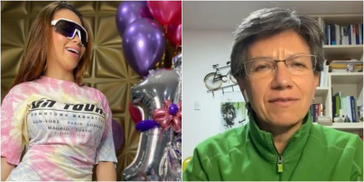 Epa Colombia invitó a Claudia López a usar sus keratinas