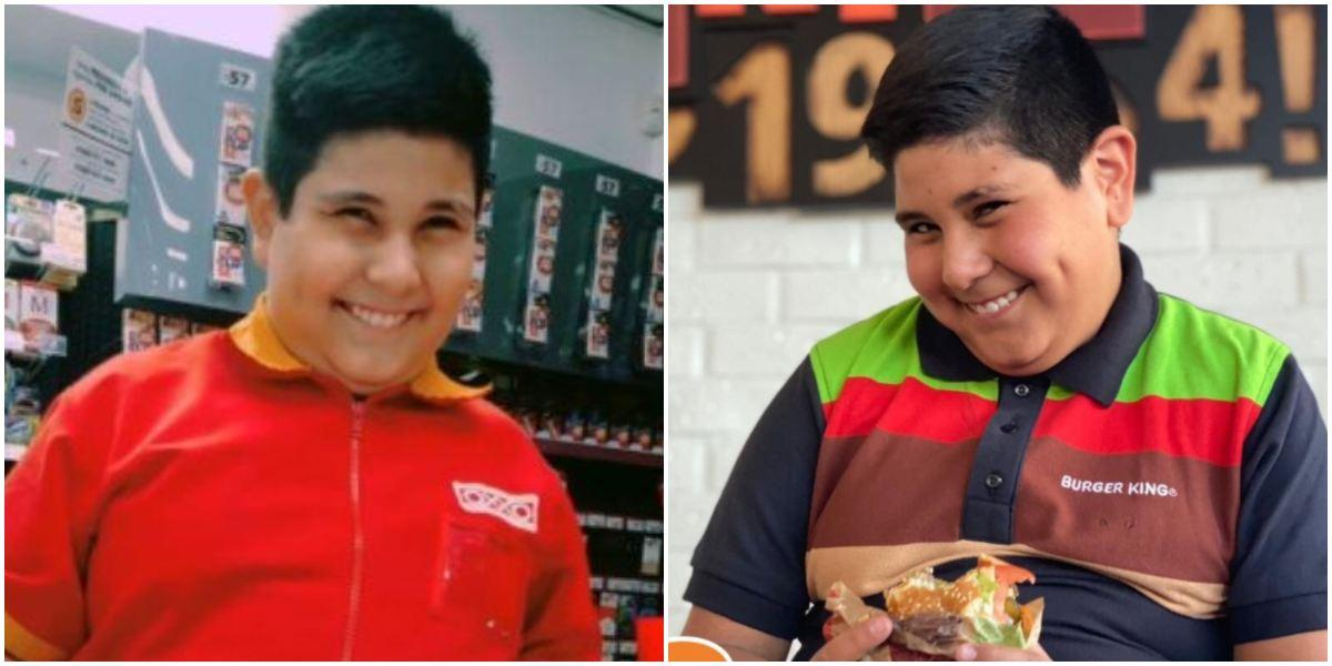 Niño del Oxxo campaña Burger King