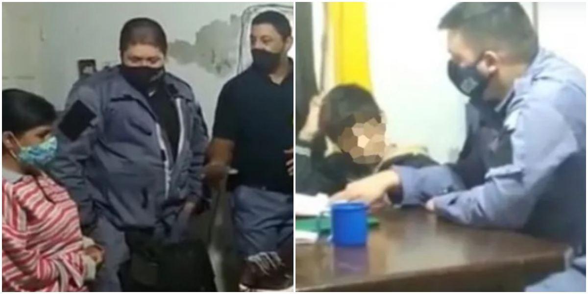 Madre llevó a su hijo a Policía porque no hacía tareas Argentina - Canal 1