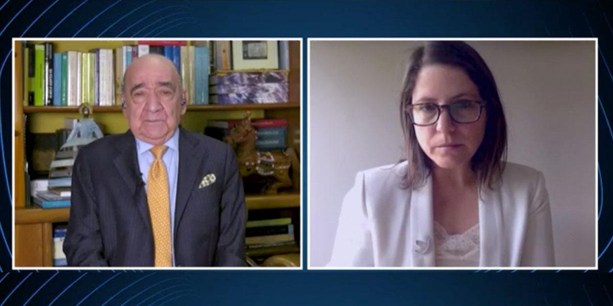 Parlamentaria Juanita Goebertus habla sobre las víctimas de la violencia