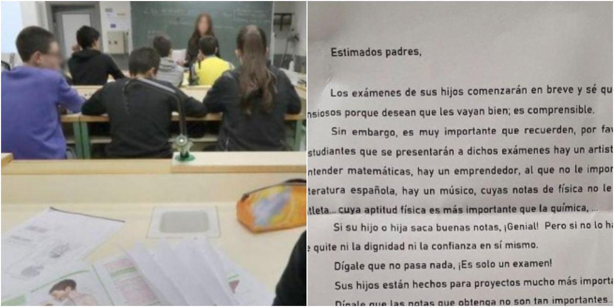 Carta director colegio padres estudiantes es viral