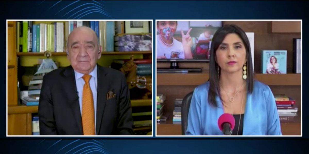 Ministra de Educación, María Victoria Angulo habla sobre la situación de los colegios en el país
