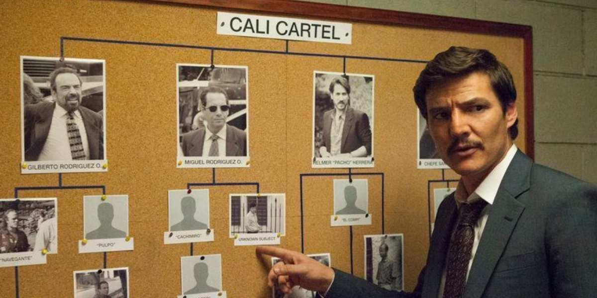 narcos temporada 3 canal 1 cartel de cali