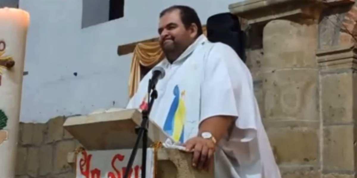 video viral cura sacerdote roberto arenas diaz contra reforma tributaria carrasquilla