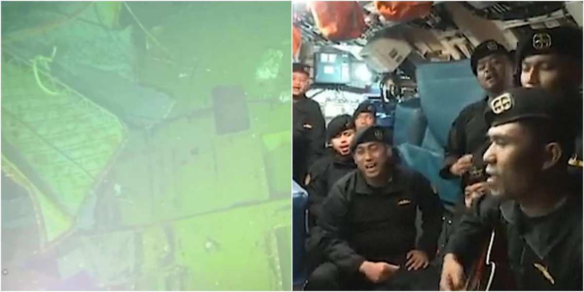 ultimo video tripulacion submarino indonesia naufrago muertos