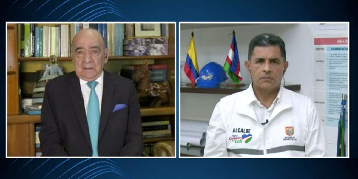 Alcalde de Cali, Jorge Iván Ospina explica crítica situación en la ciudad