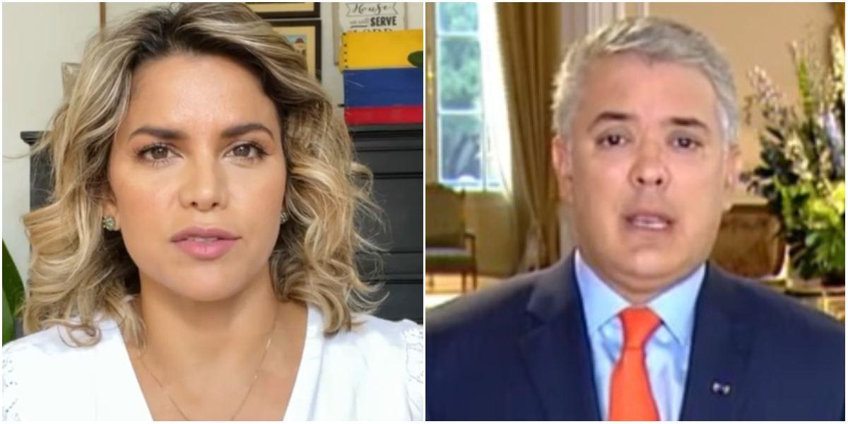 Adriana Lucía rechazó invitación presidente Duque a diálogo