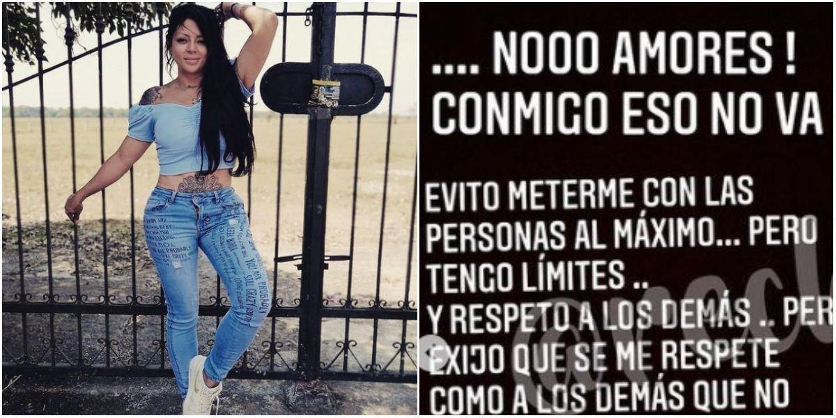 Marbelle insultó a seguidora por crisis en Colombia