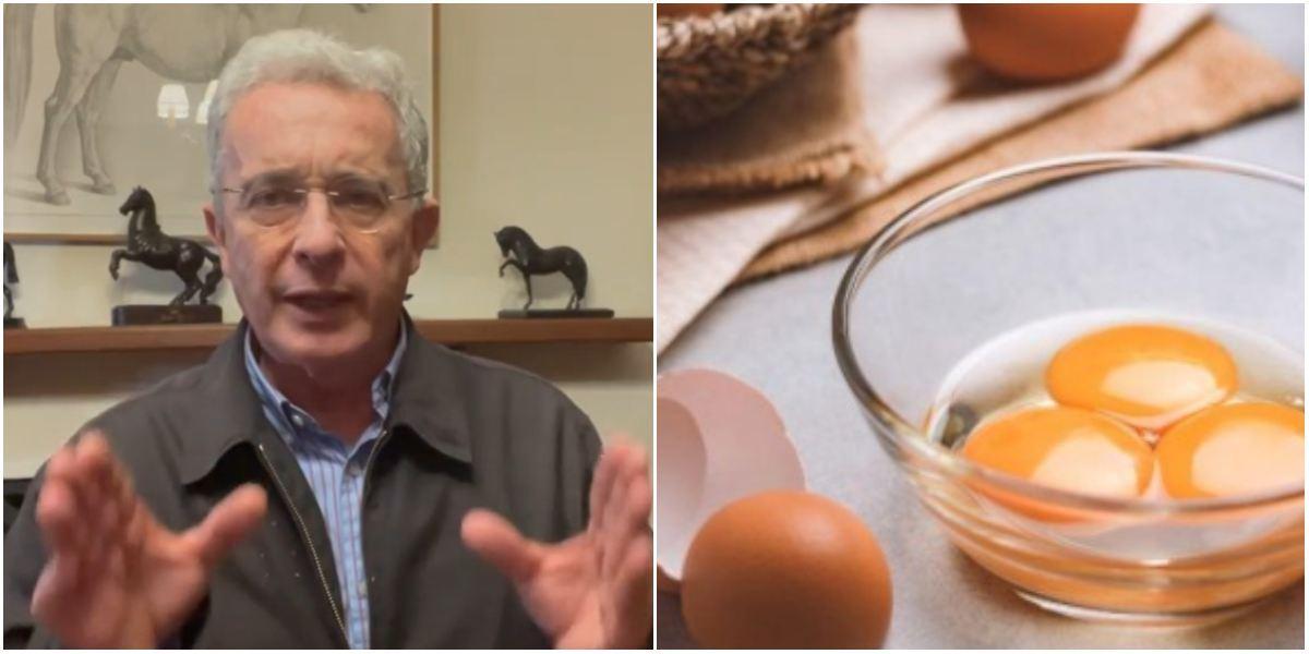 Uribe precio huevo 2.000 Colombia