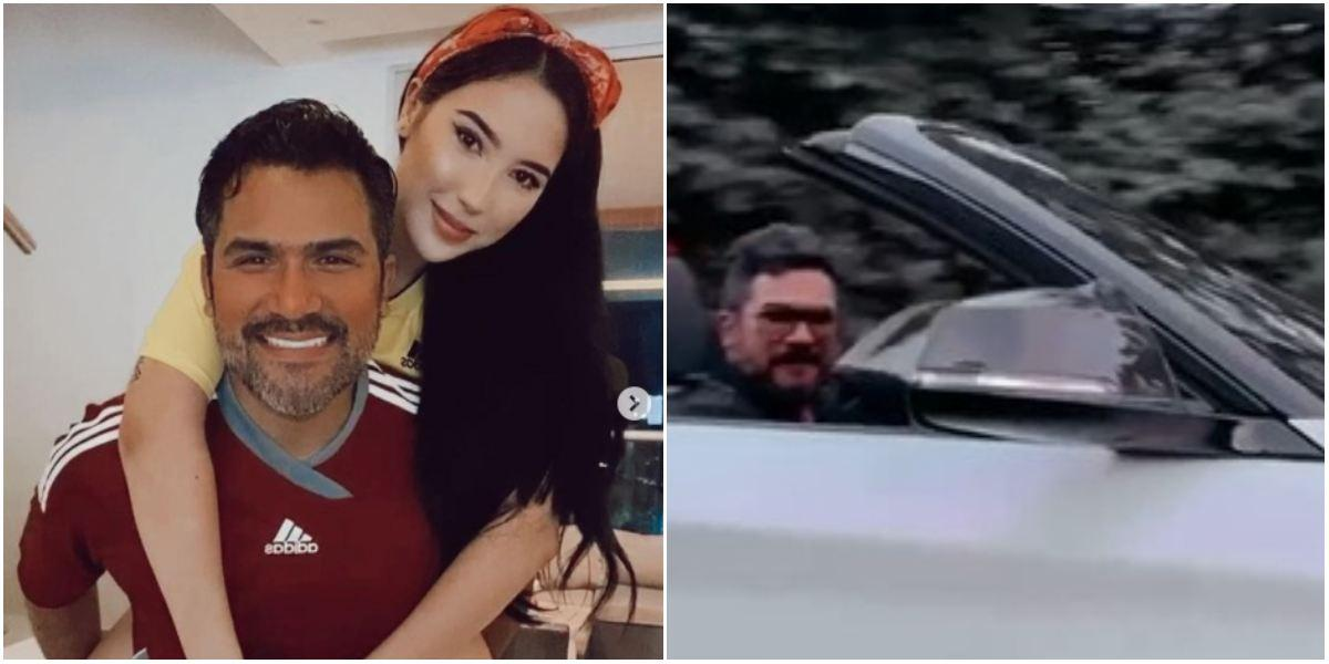 Aida Victoria Merlano le regaló convertible BMW novio Lumar Alonso