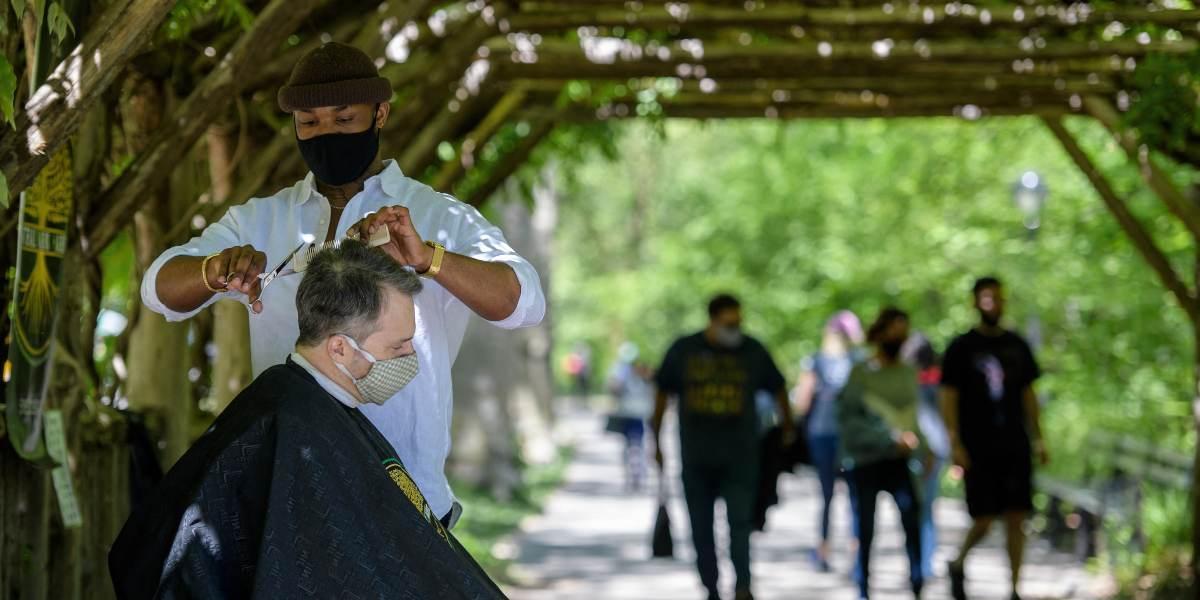 barbero de central park