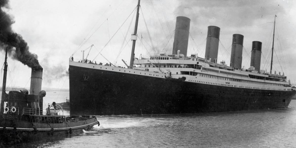 Construyen una réplica del Titanic