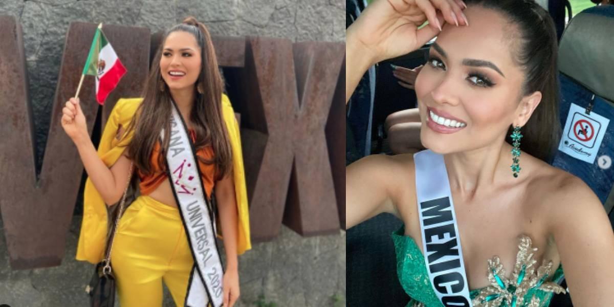 Andrea Meza, Miss México, coronada como la nueva Miss Universo 2021