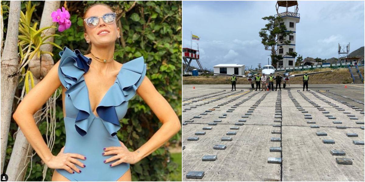 Esposo de Alejandra Azcárate implicado avioneta cargada de cocaína